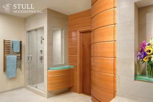 Quarter Sawn Cherry Bathroom