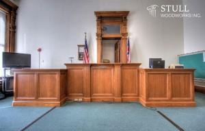 White Oak Judges Bench