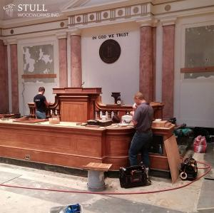Senate President Bench Restoration