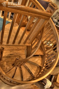 Spiral Staircase and Railing