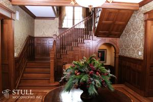 White Oak Staircase and Paneling
